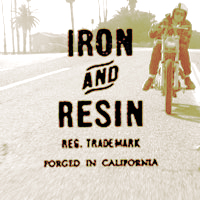 iron and resin
